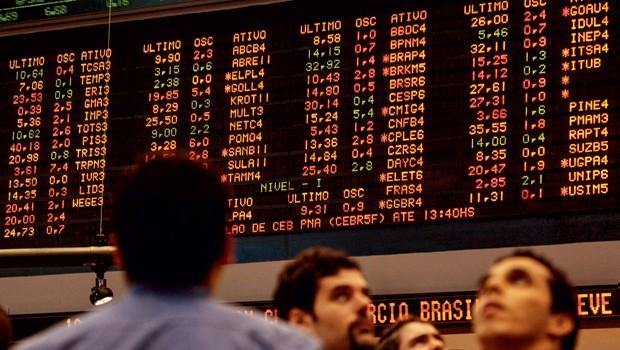 Economia;Recessão;Bovespa;pregão da Bovespa  (Foto: YASUYOSHI CHIBA/AFP PHOTO)