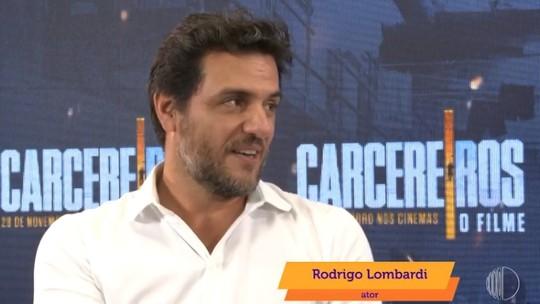 Rodrigo Lombardi fala sobre a estreia de Carcereiros - O Filme