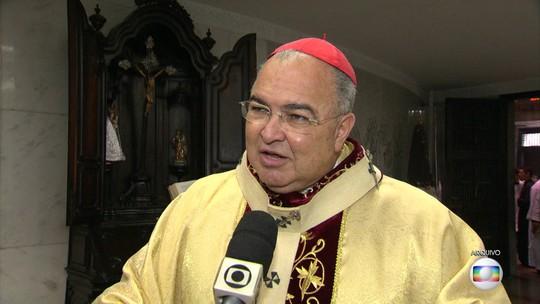 Cardeal Dom Orani relata momentos de tensão durante tiroteio no Rio