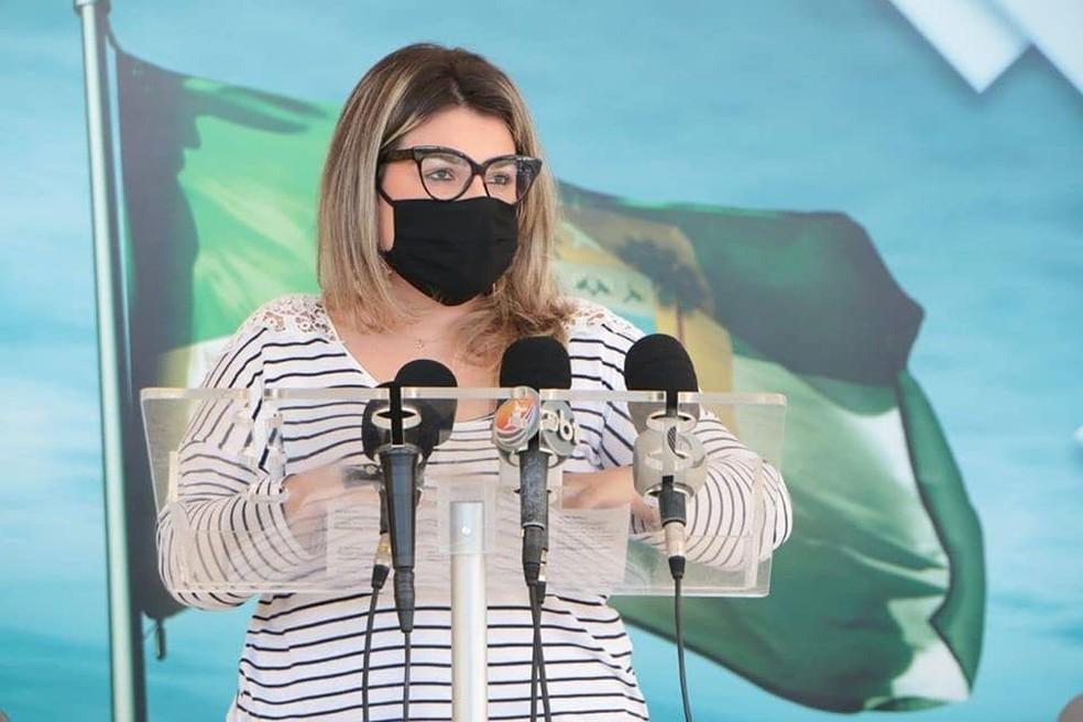 Alessandra Lucchesi, subcoordenadora de vigilância epidemiológica do RN (arquivo) — Foto: Governo do RN/Reprodução