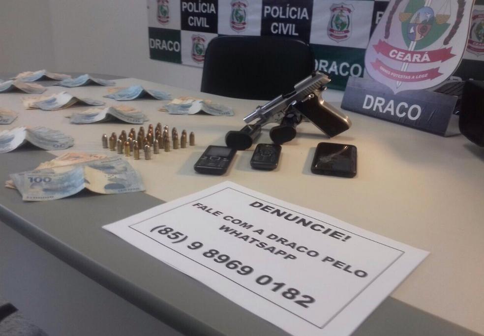Chefe do tráfico de drogas em três cidades da Região Norte do CE é preso
