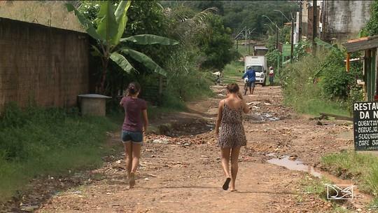 Moradores reclamam de problema em rua no bairro Novo Cohatrac em São José de Ribamar