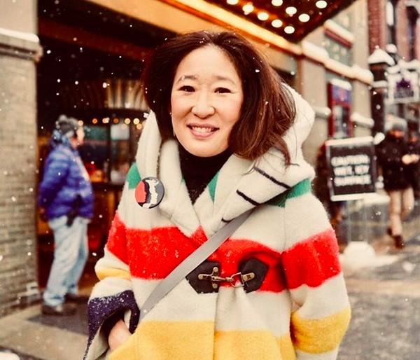 A atriz Sandra Oh (Foto: Instagram)