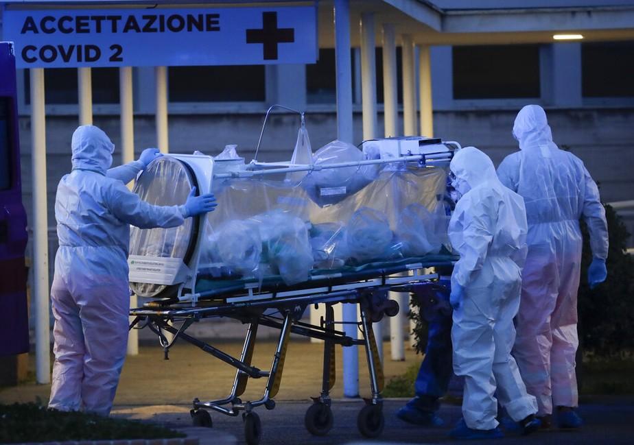 Resultado de imagem para Itália supera a China em mortes causadas pelo novo coronavírus