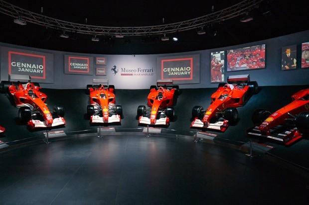 Museu da Ferrari Maranello (Foto: Divulgação)