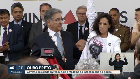 Marielle Franco e Anderson Gomes são homenageados em Ouro Preto