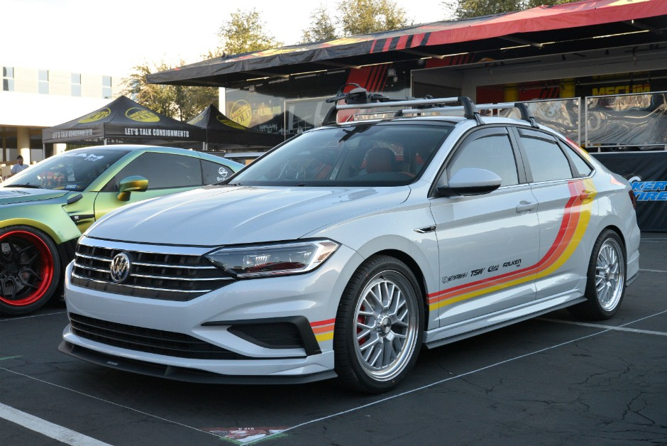 Air Design USA VW Jetta no SEMA 2018 (Foto: Newspress)