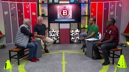 Roger Flores recebe Júnior, Tita e Peu, que relembram histórias da década de 80 do Flamengo