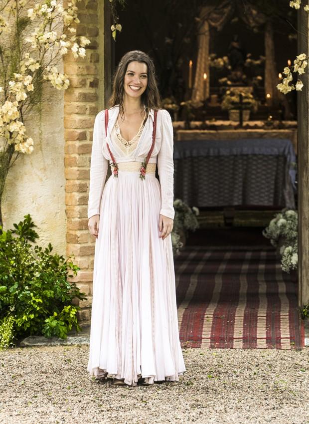 Nathalia Dill vive a mocinha Elisabeta em Orgulho e Paixão (Foto: João Miguel Júnior/TV Globo)