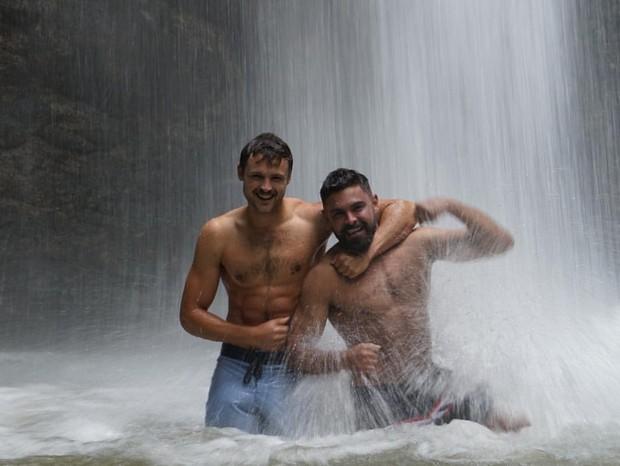 Zac Efron e o irmão, Dylan Efron (Foto: Reprodução/Instagram)