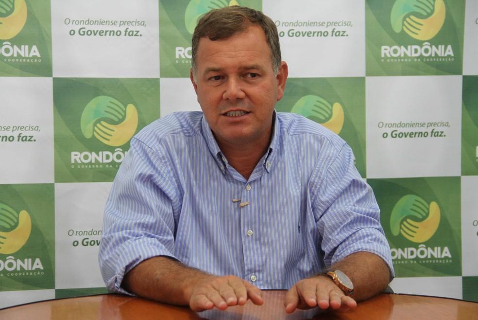 Lúcio Mosquini foi eleito deputado em 2018 — Foto: Decom/Divulgação
