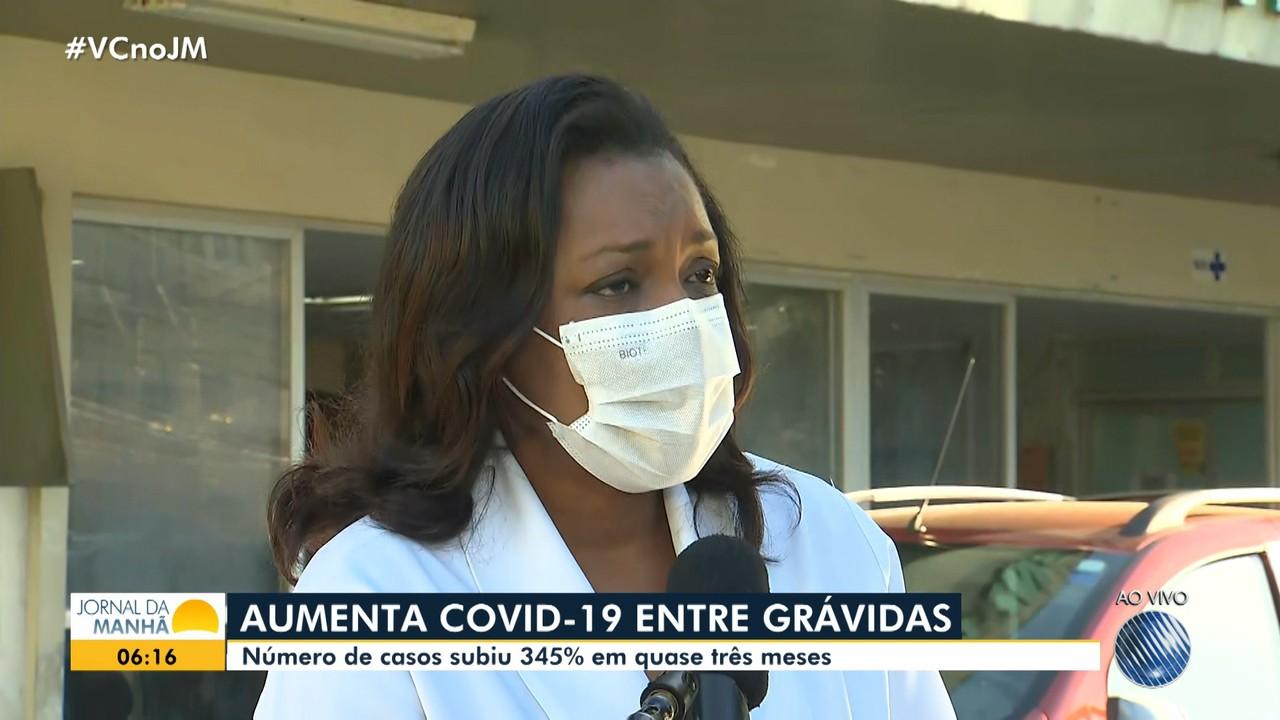 Número de casos de Covid-19 entre gestantes tem aumento e preocupa profissionais de saúde