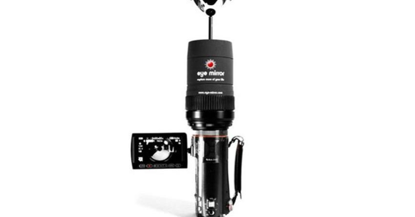 Dispositivo para capturar vídeos em 360 graus pode ser acoplado a qualquer câmera