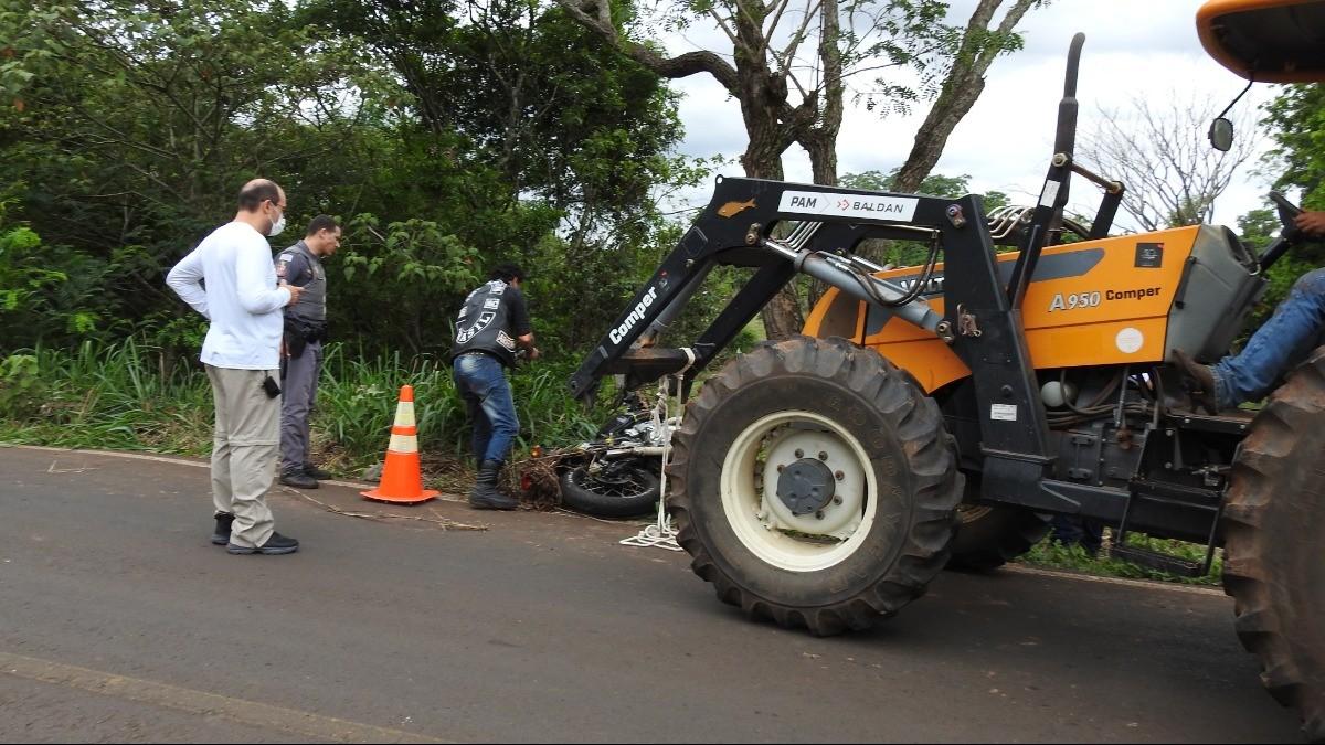 Policial Militar de Araraquara morre em acidente de moto em estrada de Ribeirão Bonito