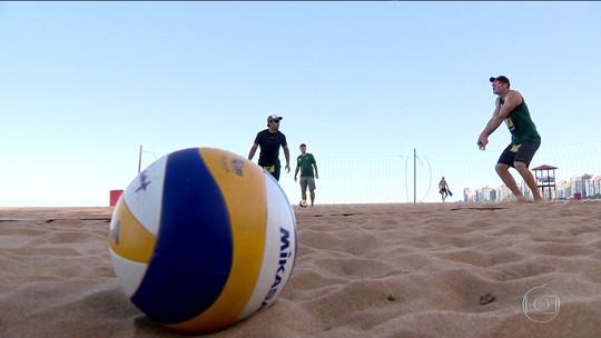 Enquanto alguns medalhistas curtem férias, outros continuam treinando