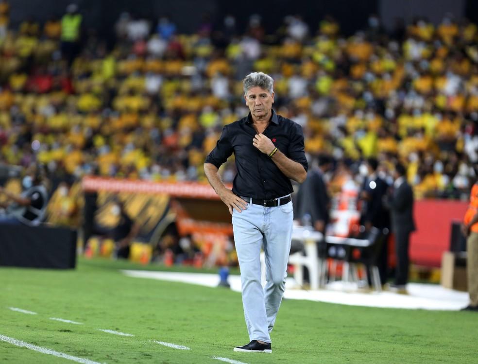 Renato Gaúcho, técnico do Flamengo — Foto: Staff Images / CONMEBOL