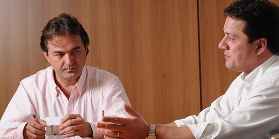 Joesley e Wesley Batista, do grupo J&F, são investigados por suspeita de crimes contra o mercado (Foto: Claudio Belli/Valor)