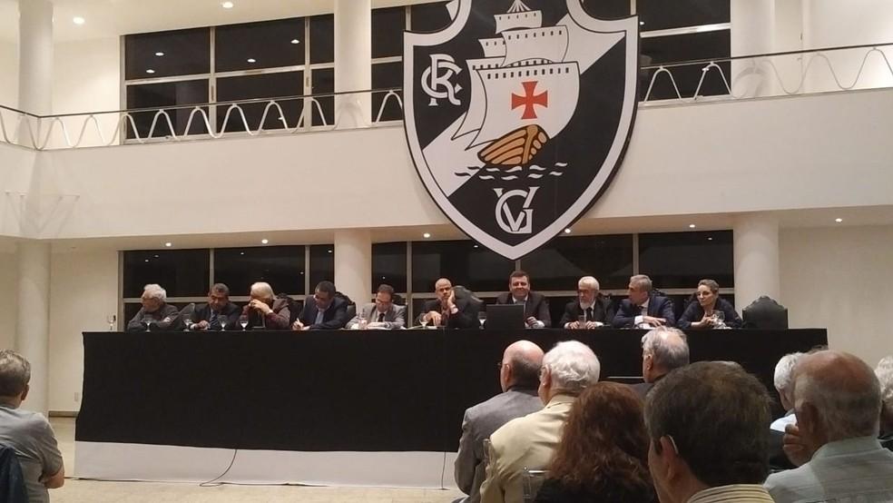 Conselho Deliberativo do Vasco volta a se reunir nesta terça-feira — Foto: GloboEsporte.com