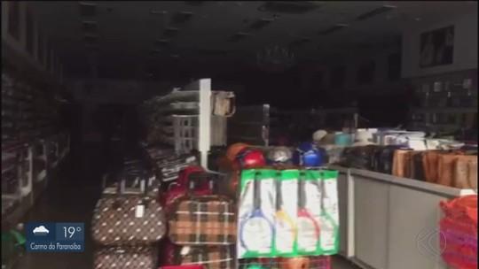 Comerciantes da região Central de Uberlândia ficam sem energia