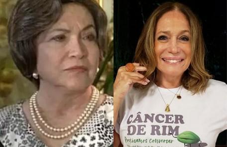 Susana Vieira é Emília, tia de Lola. Há 25 anos, a personagem foi de Nathalia Timberg Reprodução / Instagram