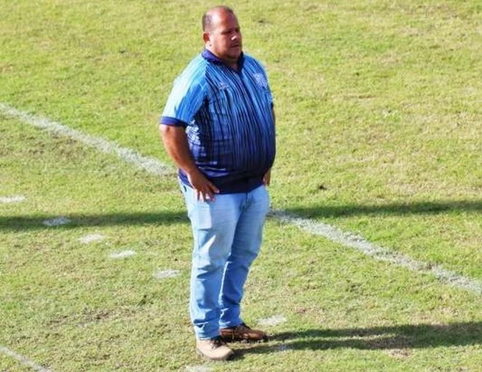Distéfano Brandão vai comandar o Jaciobá na volta do Alagoano — Foto: Ascom/Jaciobá