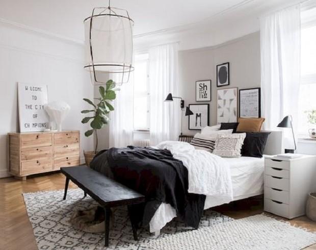 7 quartos com decoração escandinava para inspirar (Foto: Reprodução / Pinterest)