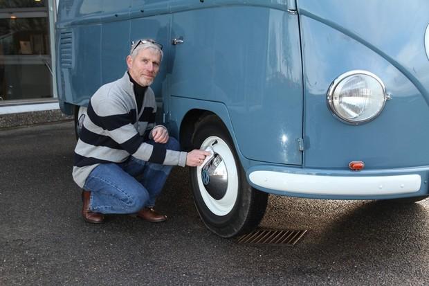 Sofie, a Volkswagen Kombi mais antiga do mundo completa 70 anos  (Foto: Divulgação )