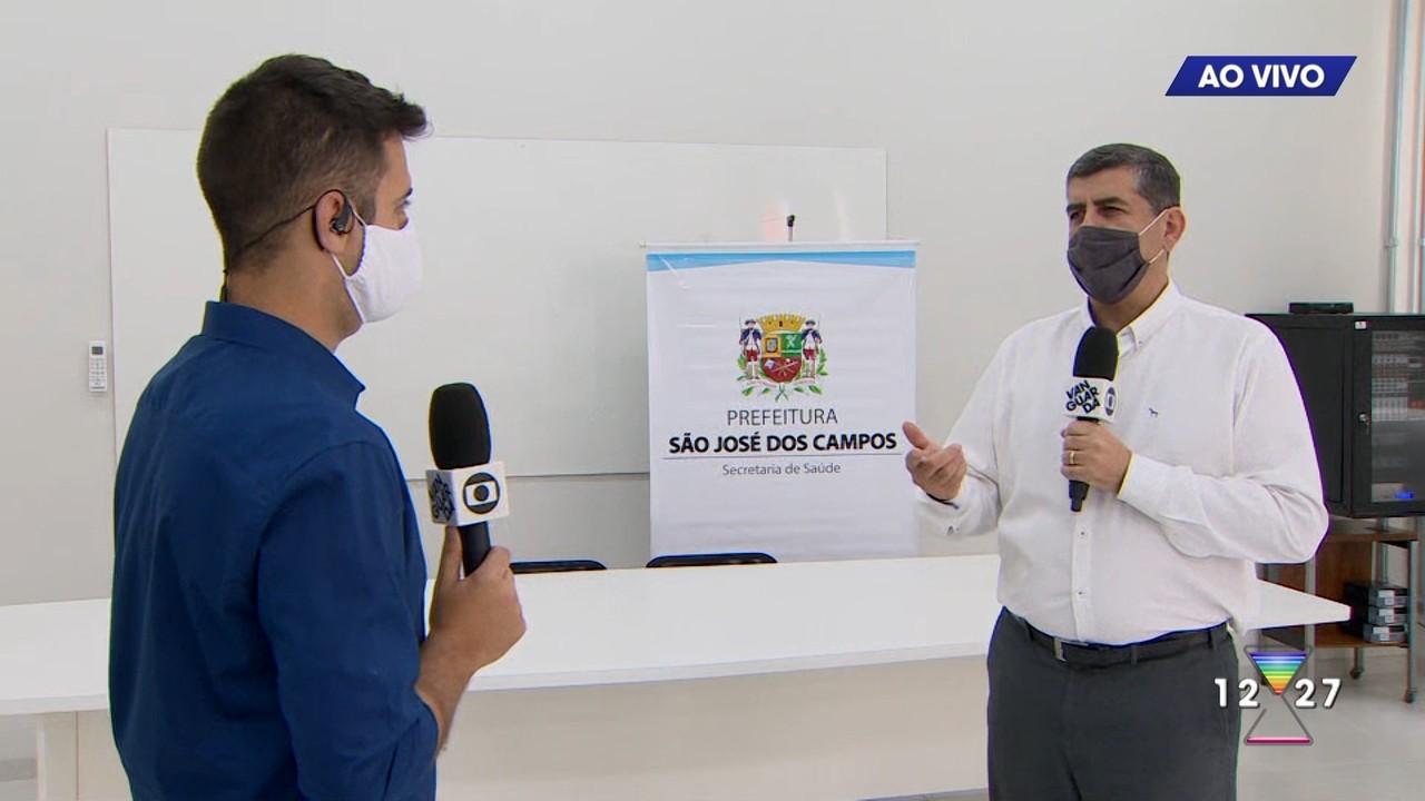 Secretário de saúde de São José dos Campos fala sobre casos de COVID-19 na cidade