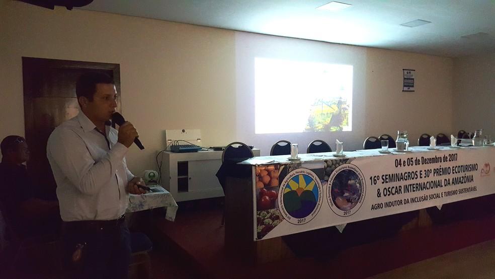 Seminário percorreu várias cidades do país e na América Latina, e agora é finalizado em Ji-Paraná  (Foto: Pâmela Fernandes/G1)