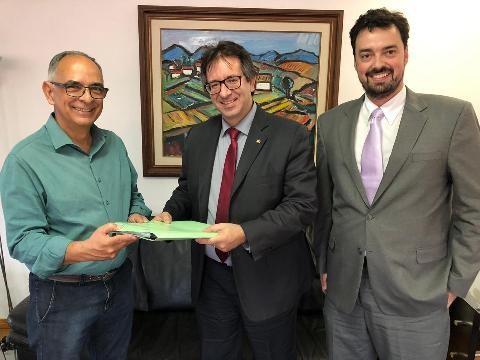 MPMG apresenta ao prefeito de Juiz de Fora projeto para nova sede - Notícias - Plantão Diário
