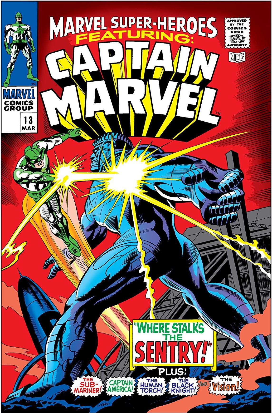 Carol Danvers faz sua primeira aparição nos quadrinhos na década de 1960 (Foto: Gene Colan/Marvel)