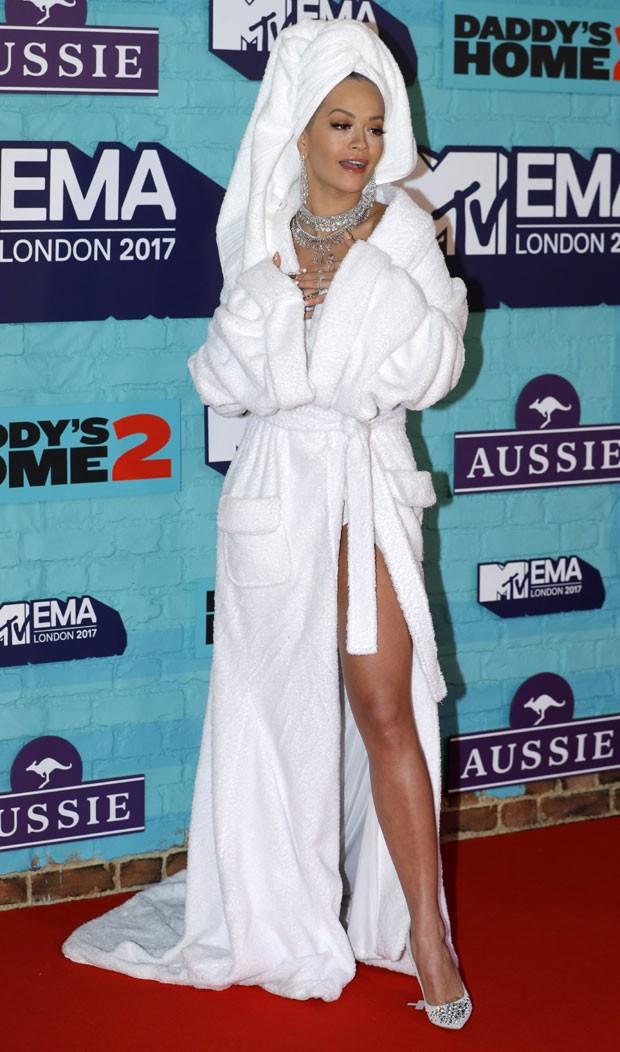O look de Rita Ora (Foto: Getty Images)