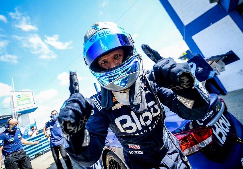 Allam Khodair vence a corrida 2 da 11ª etapa da Stock Car — Foto: Divulgação Stock Car