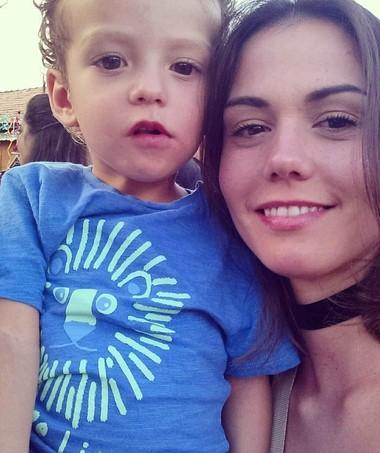 Juliana ficou revoltada com orientação da pediatra (Foto: Arquivo pessoal)