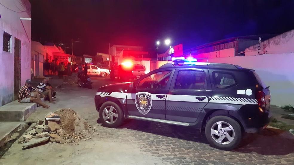Crime aconteceu em Felipe Camarão — Foto: Reprodução