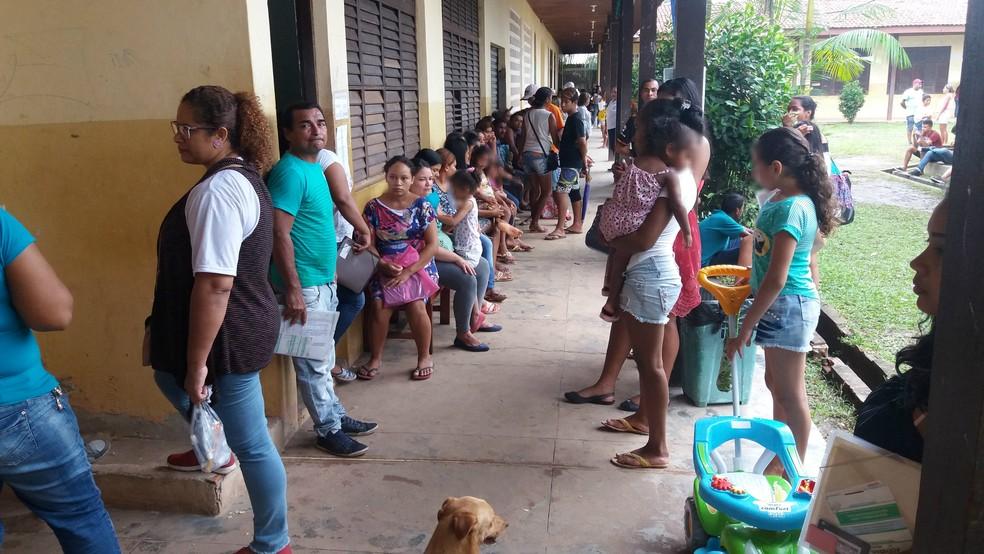 -  Serviços de saúde e cidadania fertados gratuitamente para moradores  Foto: Jéssica Alves/G1