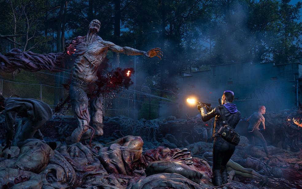 Garotão é outra criatura que desafia os jogadores em Back 4 Blood — Foto: Divulgação/Turtle Rock Studios