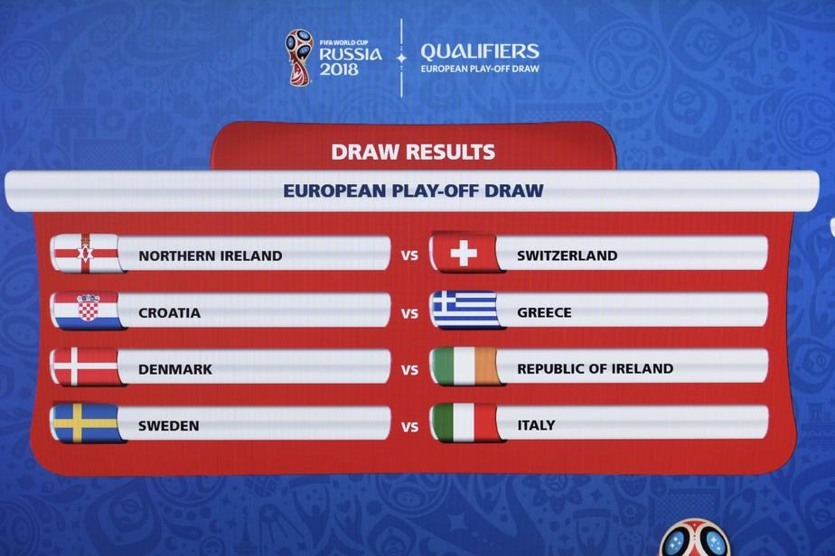 Sorteio define que Itália enfrentará a Suécia em duelo valendo vaga ... a2f141c16bf9a