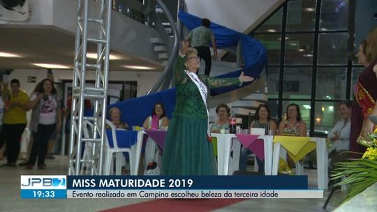 Concurso Miss Maturidade é realizado em Campina Grande