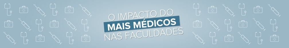 2013-2018: G1 mostra o impacto do Mais Médico na formação em medicina no Brasil — Foto: Arte/G1