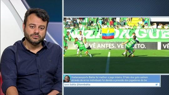"""Eric Faria critica atuação """"apática"""" do Fla contra a Chape: """"Parecia pré-temporada"""""""