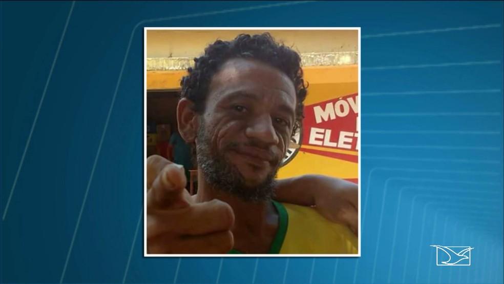 Luciano teve o pescoço cortado e morreu pouco tempo depois (Foto: Reprodução / TV Mirante)