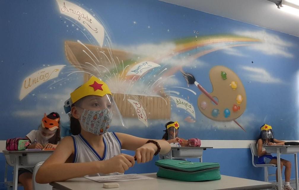 Escola particular Ana Tavares, em Perus, reabre em São Paulo  — Foto: Ana Tavares/divulgação