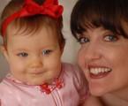 Larissa Maciel e a filha, Melina | Divulgação