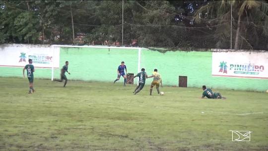 Com gol aos 46 do segundo tempo, Santa Quitéria empata com Pinheiro, no Costa Rodrigues