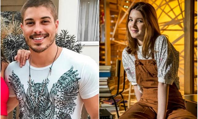 Douglas Sampaio e Jeniffer Oliveira