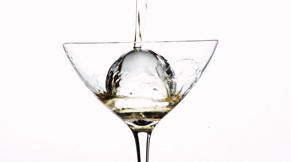 Esfera de gelo da Gläce Luxury Ice: preços exorbitantes (Foto: Divulgação)