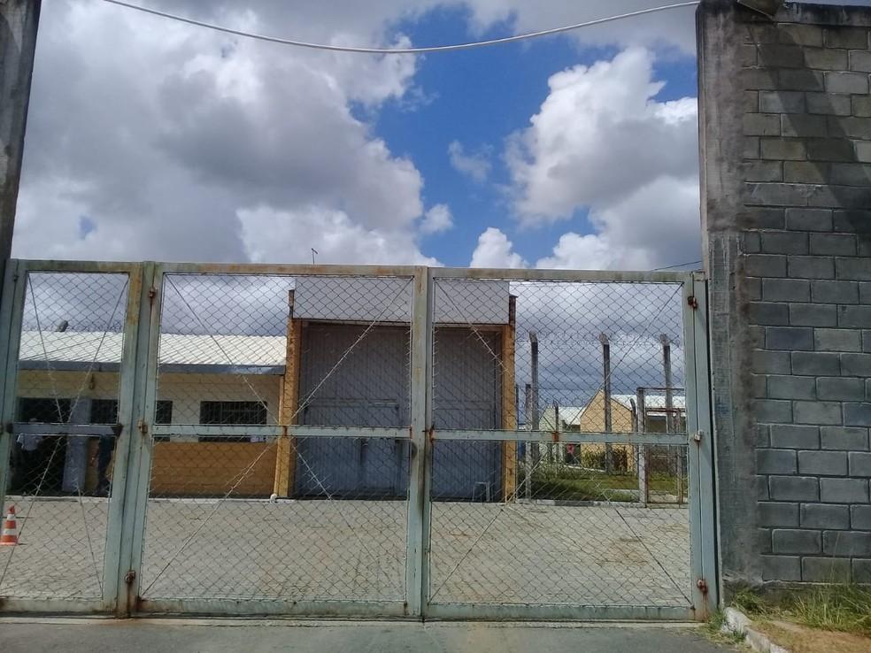 Comunidade de Atendimento Socioeducativo (Case) Irmã Dulce, em Camaçari — Foto: Cid Vaz/TV Bahia