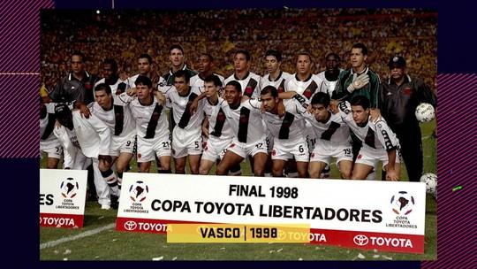 Vasco de 1998 ou Flamengo de 2019? Pedrinho compara campeões da Libertadores