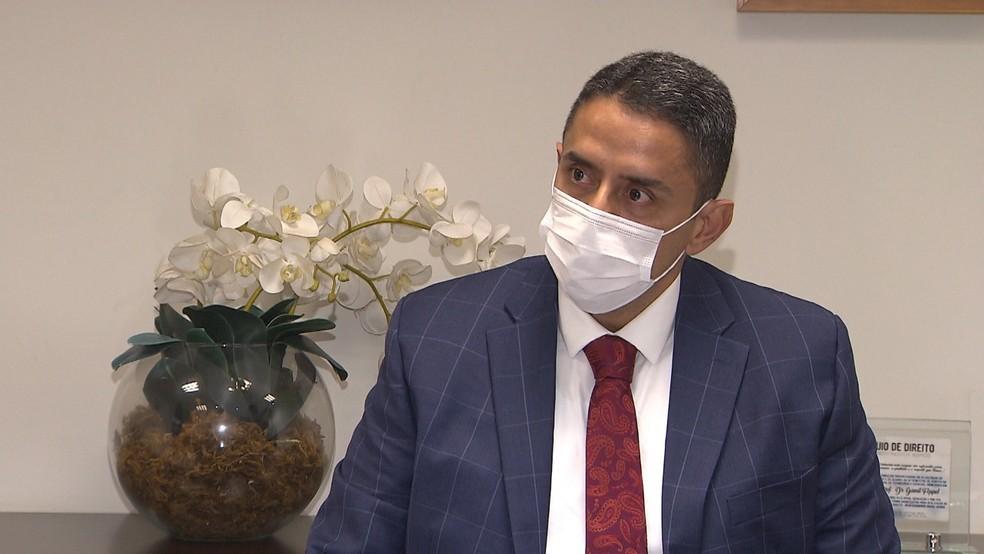Gamil Föppel, advogado de Geddel — Foto: Reprodução/TV Bahia